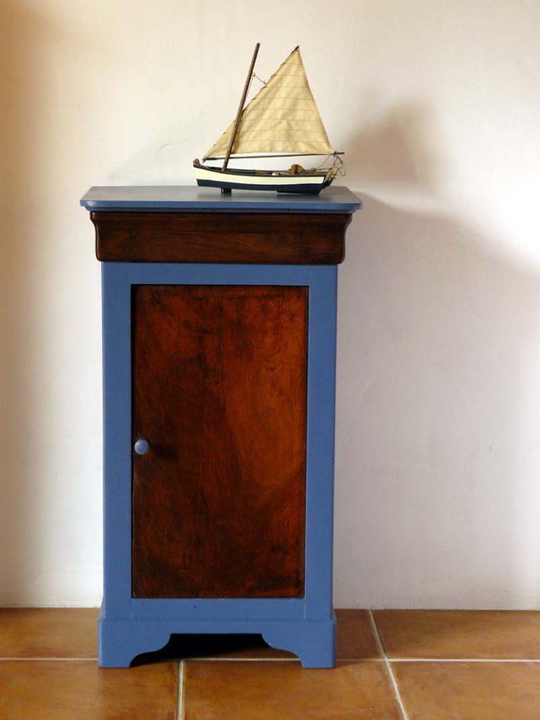 chevet-louis-philippe bleu
