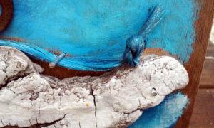 « Bord de mer à l'étendard » détail baleine