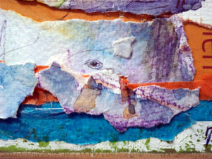 Collage Paysage paesine détail baleine