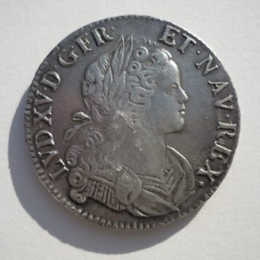 Écu Louis XV France-Navarre