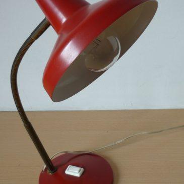 Ancienne lampe de bureau des années 50.