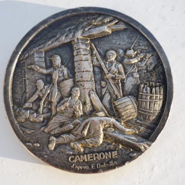 Médaille commémorative en bronze de la Légion Étrangère