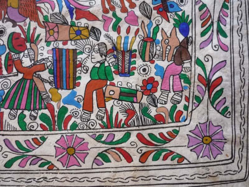 Eleodoro Garcia détail peinture