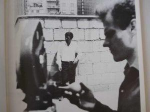 homme camera Pasolini cinéaste Les cahiers du cinéma
