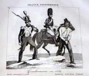 gravure france pittoresque soldats