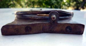 détail bronze Jacopin pièege à rat