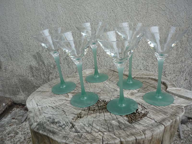 lot de 6 verres Noilly Prat