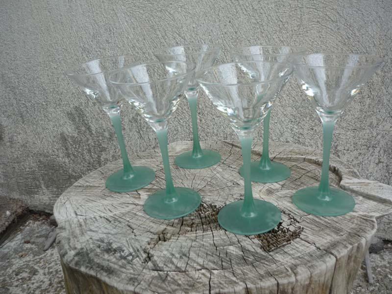 lot de 6 verres Noilly Prat
