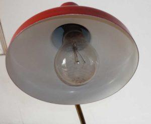 coupole et ampoule lampe ancienne